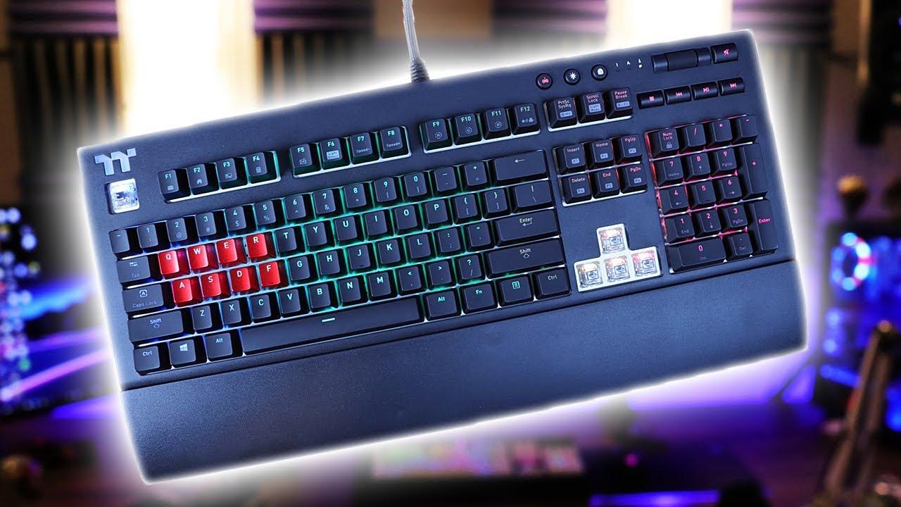 02f2a5a5da0 Thermaltake Tt Premium X1 RGB Keyboard Review - YouTube