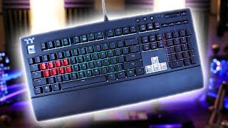 Thermaltake Tt Premium X1 RGB Keyboard Review