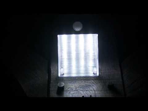 Solar Entrance Light