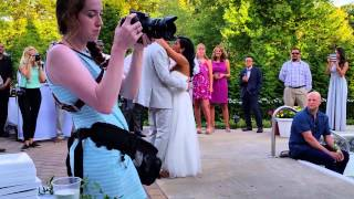 Amy and Jeff Sure thing cover Sept 6 2015 wedding