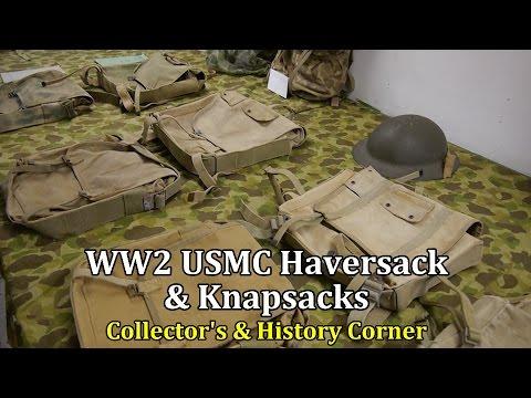 World War 2: USMC Haversack and Knapsacks | Collector's & History Corner
