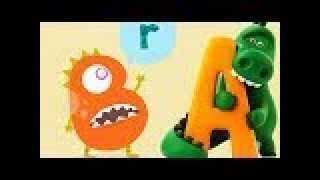 Baby Learn About English A B C With Funny Animals - ABC Songs for Children - Talking ABC