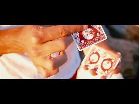 Les Méliés Red Eclipse Playing Cards