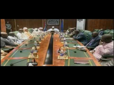 YAHYA JAMMEH MEETING WITH AFRICAN BAR ASSOCIATION