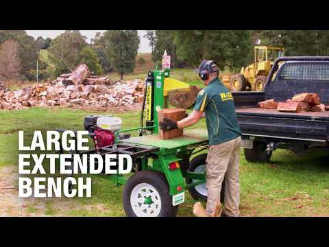 Superaxe WS3150 Log Splitter Made in Australia by Whitlands Engineering
