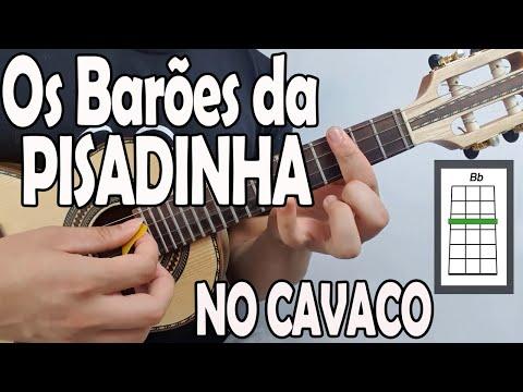 """APRENDA """" RECAIREI"""" - OS BARÕES DA PISADINHA no CAVAQUINHO - AULA DE CAVACO - LÉO SOARES"""