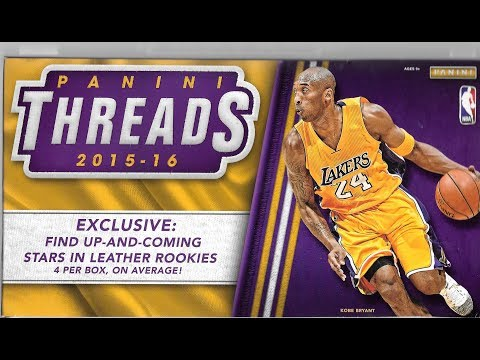 2015/16 Panini Threads Basketball Premium...
