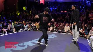 Byron Clairicia vs Byron Cox 1ST ROUND BATTLE House Dance Forever 2019