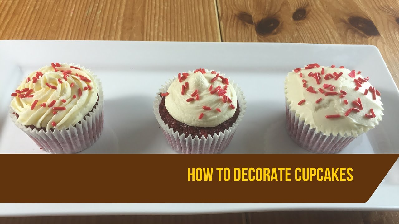 How To Decorate Red Velvet Cupcakes Youtube Home Decorators Catalog Best Ideas of Home Decor and Design [homedecoratorscatalog.us]