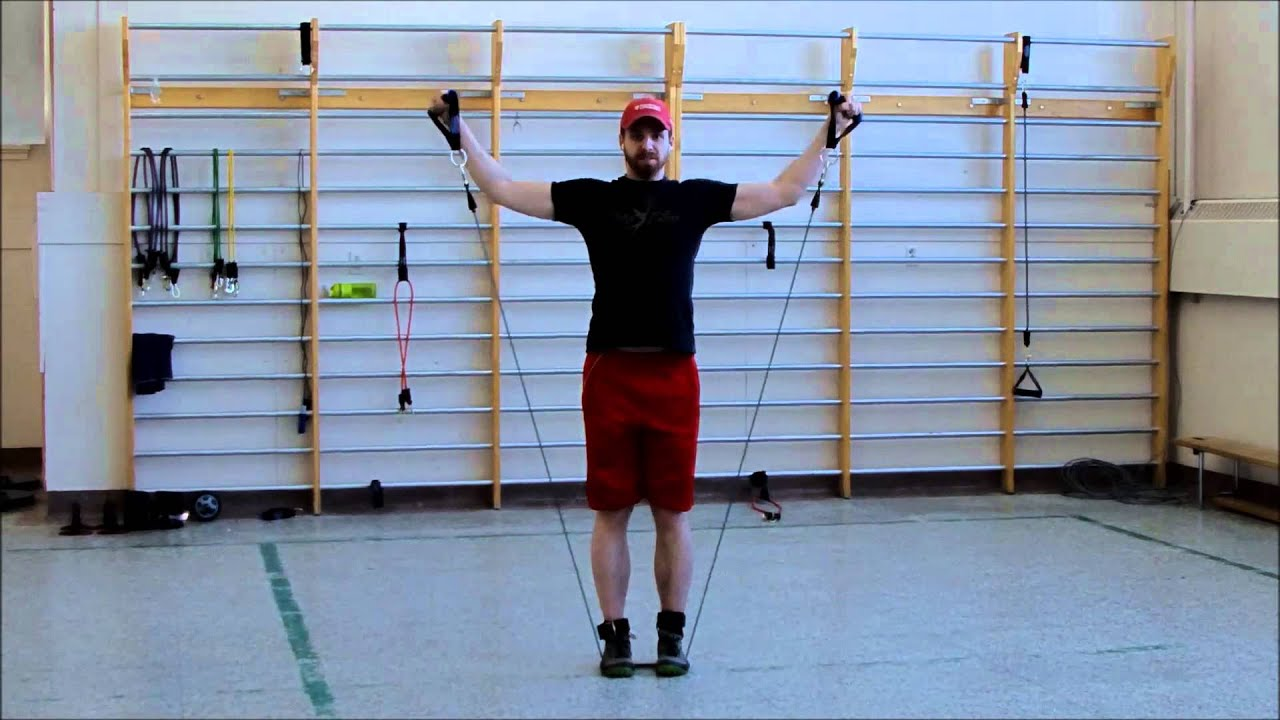 Populaire S'entraîner efficacement avec des élastiques. Exercices réalisés  SK62