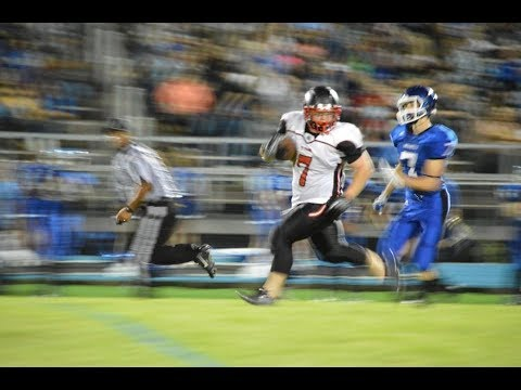 8/25/2017 - Bryce Allen Wilson - Junior Fullback - vs Putnam Co, MO Highlights - Class of 2019