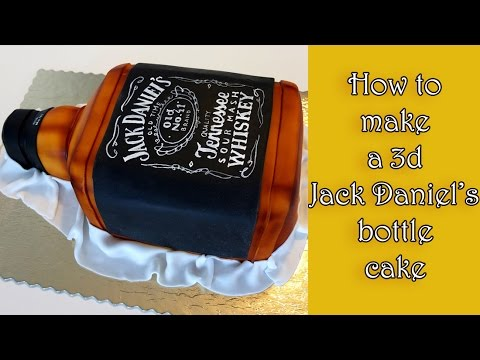 How To Make A 3d Jack Daniel S Bottle Cake Jak Zrobic Tort W
