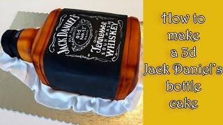 How to make a 3d Jack Daniel