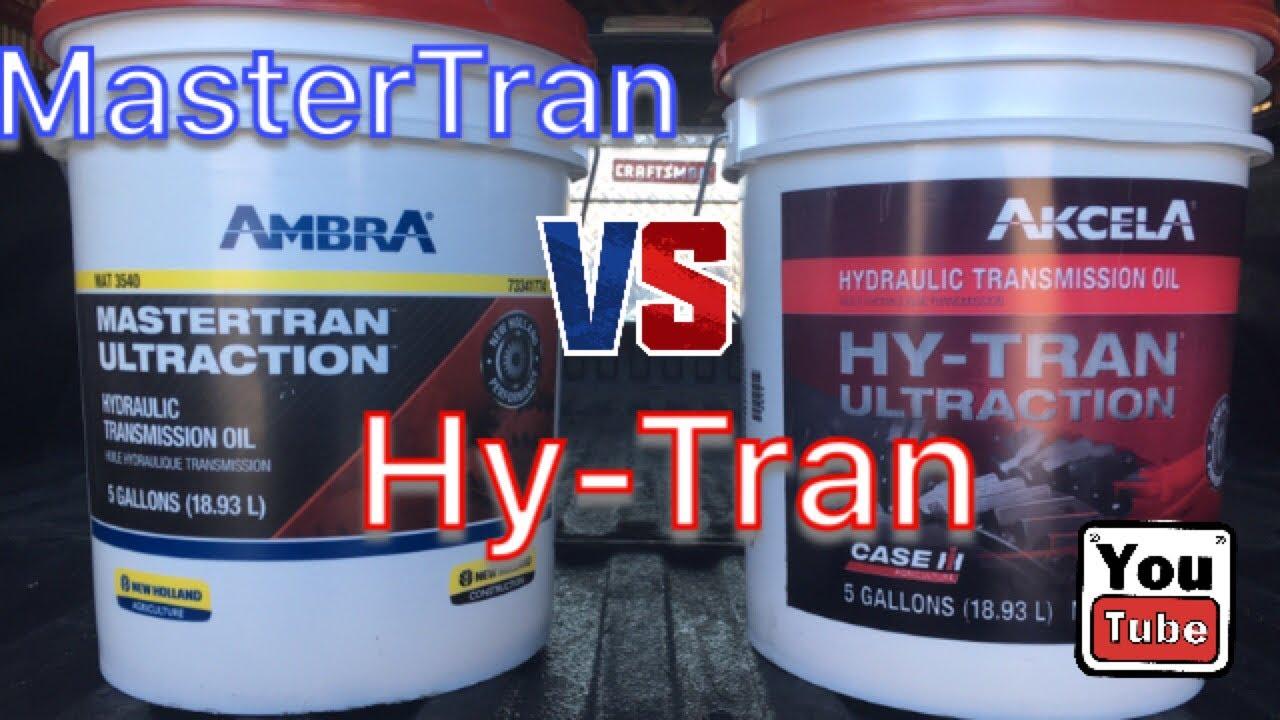 HyTran vs MasterTran Hydraulic Oil