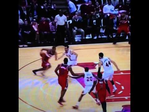 Kirk Hinrich highlights vs the Wizards 2/3/15