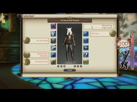 FFXIV: Fashion Report Friday - Week 68 - Theme : To Serve & Protect