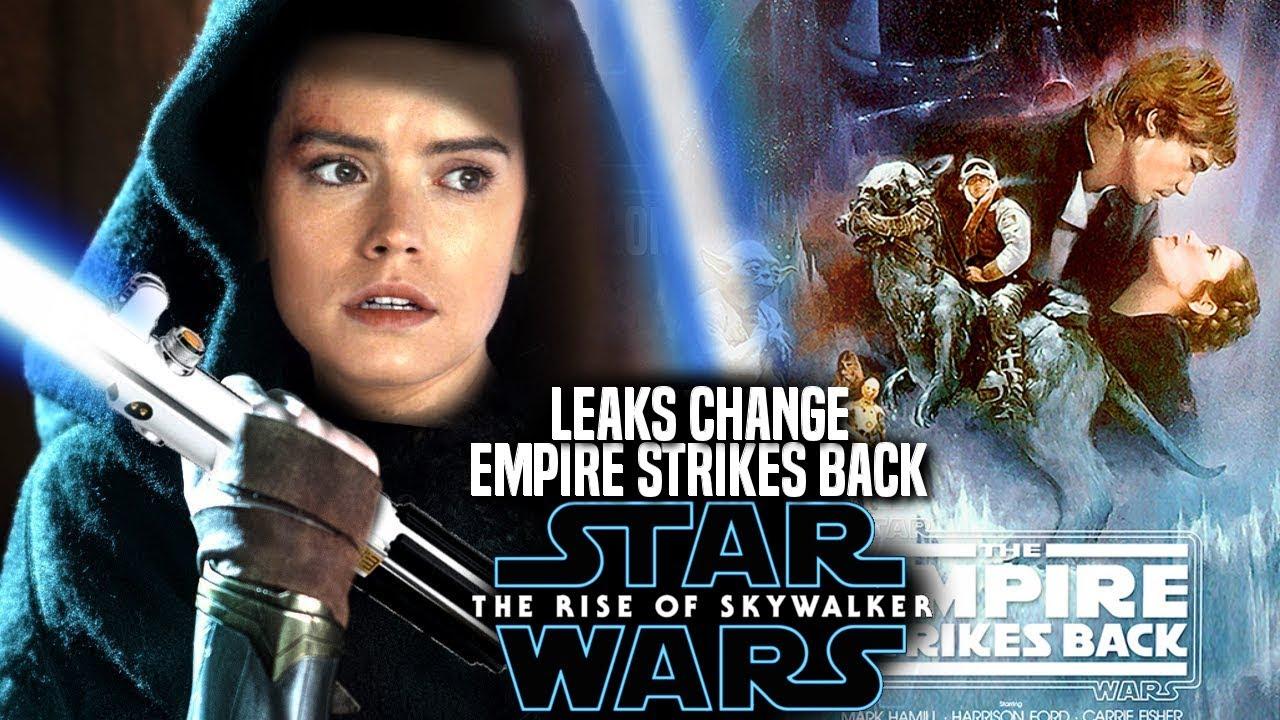 The Rise Of Skywalker Leaks CHANGE Empire Strikes Back! (Star Wars Episode  9)