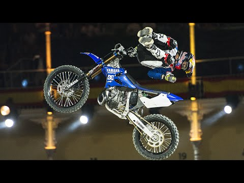 Tom Pagès 1st Place FMX Run | Red Bull X-Fighters 2016