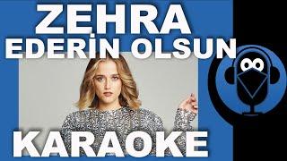 Zehra Gülüç - Ederin Olsun ( Beni Sevme Kalırsan Onsuz) / Karaoke / Sözleri /Lyrics / Beat ( Cover ) Resimi