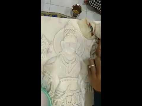 Pune Workshop Clay Dhanvantari face