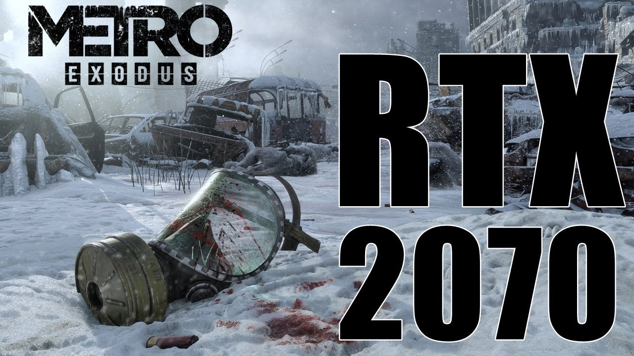 Metro Exodus | RTX 2070 | Ultra Settings 1080p | FRAME-RATE TEST