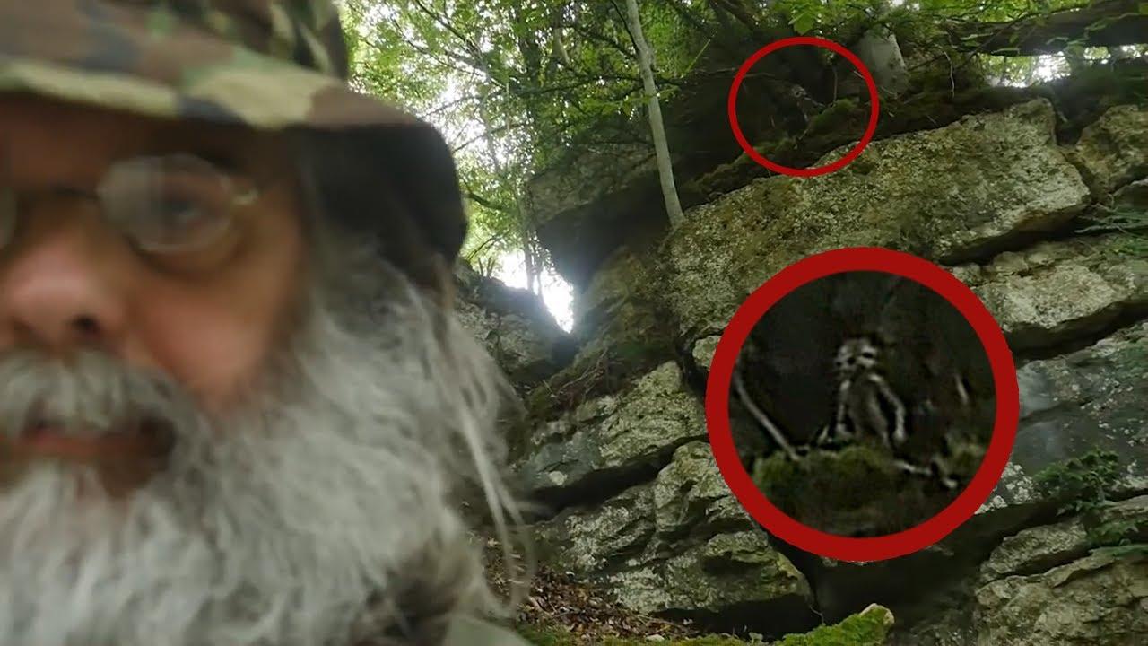 7 Video Đáng Sợ Được Quay Trong rừng Vào Ban Đêm