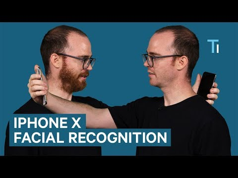 What happens if you shave your beard after registering it with Face ID on the iPhone X