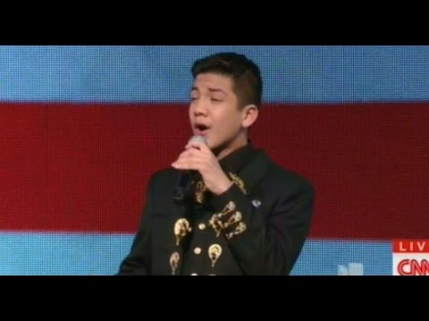 Racists EXPLODE After Mexican-American Sings National Anthem at Dem Debate