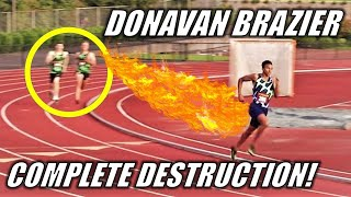 A KICK FOR THE AGES || Donavan Brazier's INSANE 1500 Meters - The 2020 Big Friendly Track Meet