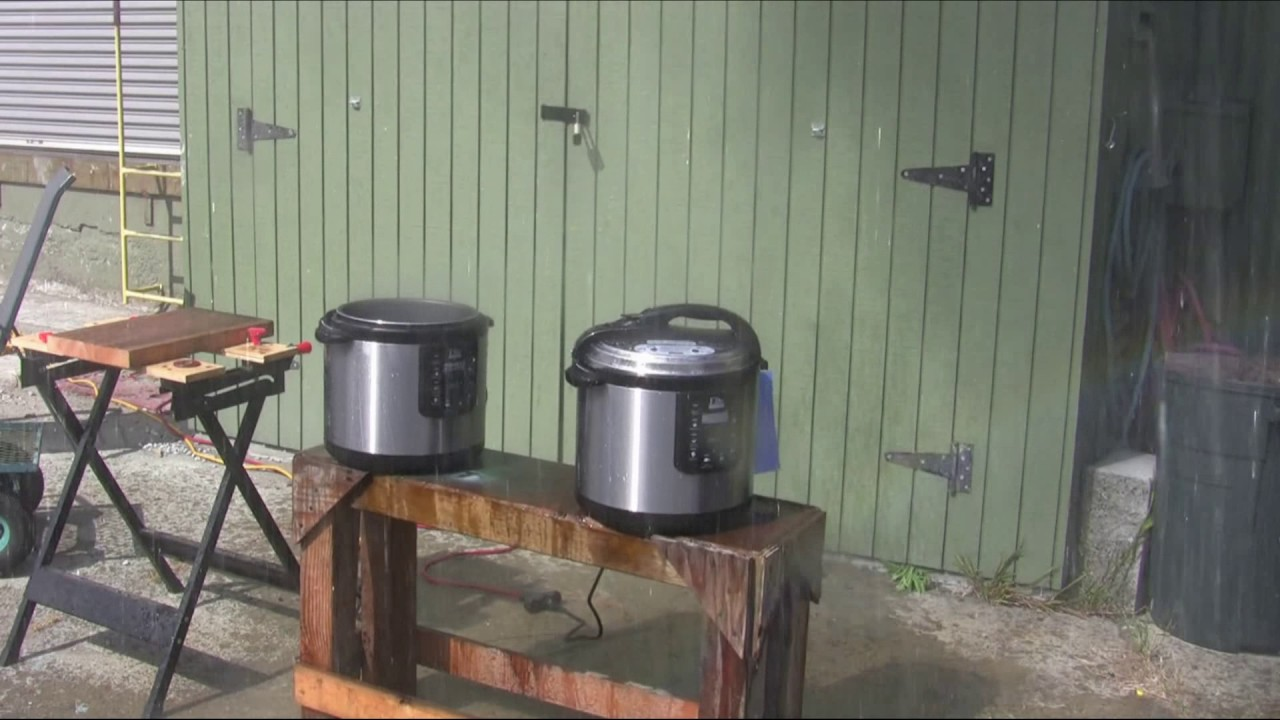 Pressure cooker explosion youtube