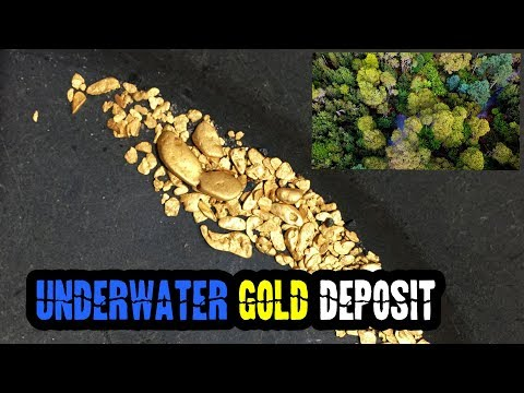 Finding Gold NUGGETS From An Underwater Deposit Day 2