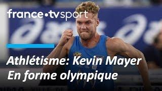 Grand format : Kevin Mayer en forme olympique