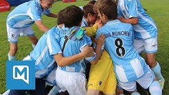 Merkur CUP 2016 - TSV 1860 München bezwingt FC Bayern im Traumfinale
