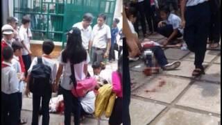 Nữ sinh lớp 6 mang theo dao lên lớp rồi đâm 2 bạn nữ cùng trường nhập viện do ghen tuông