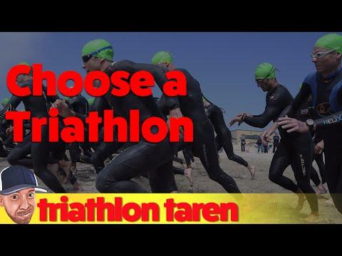 How to Choose A Triathlon
