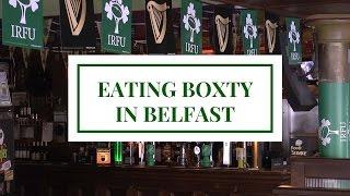 Boxty: traditional Irish potato pancake in Belfast