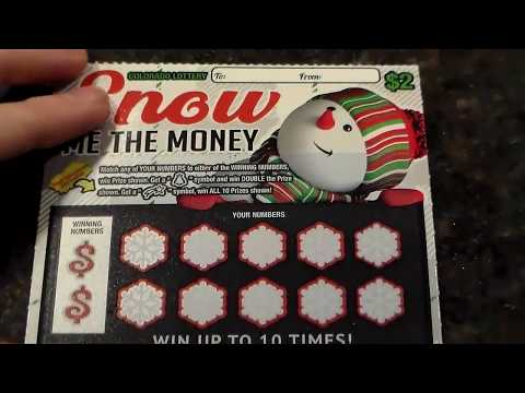 Colorado Lottery: Holiday Tickets Part 1