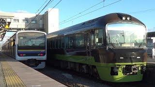 【団体列車】リゾートやまどり 千葉県を一周