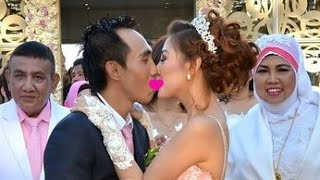 Ini Ciuman Kemesraan dalam Pernikahan Bella Shofie