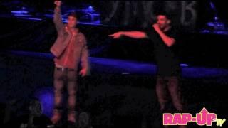 Drake and Justin Bieber Perform