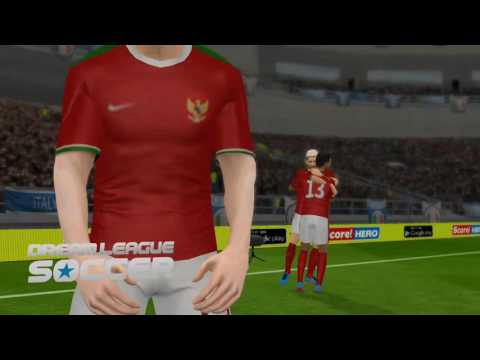 Indonesia vs Italy Final (Dream league soccer)
