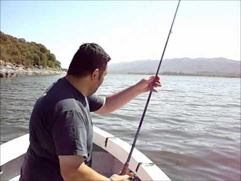PESCA DE CARPAS - MODALIDAD EMBARCADO - LAGO SAN ROQUE 3 Travel Video