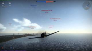 War Thunder Focke-Wulf Fw 190 Würger A-5 and F-8 review and gameplay