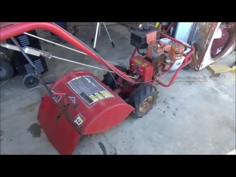 Clean carburetor on Troybilt Horse Tiller (part 1) May 7, 2017 - YouTube
