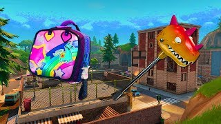 FORTNITE NEW PORT-A-FORT ! NEW LEAKED SKINS & BRITE BAG BACK BLING SOON!!! (FORTNITE BATTLE ROYALE)