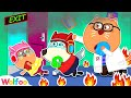 No No, Wolfoo! House Is on Fire - Kids Pretend Play Safety Tips | Wolfoo Family Kids Cartoon