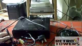 كيفية توصيل سيجا زحل إلى التلفزيون عالي الوضوح مع كابلات AV