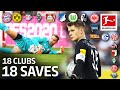 18 Clubs, 18 Saves - The Best Save by Every Bundesliga Team in 2019/20