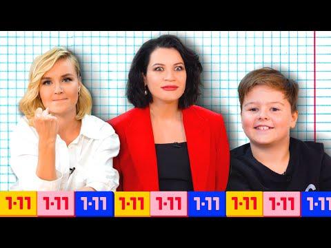 Кто умнее - Полина Гагарина или школьники? Шоу Иды Галич 1-11