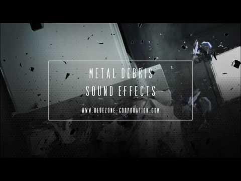 Metal Debris Sound Effects - WAV Sample Library for Download